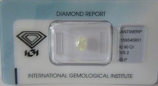 0,90 ct.-O-P-VS2-IGI-oval