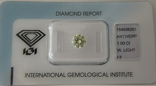 1,0 ct.-W-IF-IGI